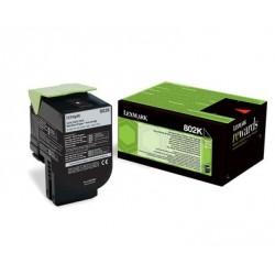 80C20K0 - Toner Noir original Lexmark 802K - 1000 pages