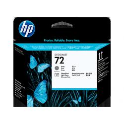 HP 72 Tête d'impression DesignJet Série T GRIS/NOIR PHOTO C9380A