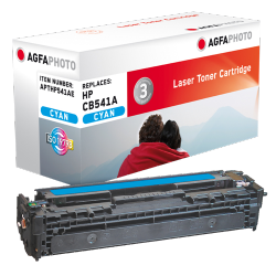 HP 125A Compatible, Ref: CB541AR - Toner HP cyan - 1400 pages