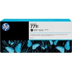 B6Y07A - HP 771C - cartouche d'encre noir mat 775 ml pour HP Designjet Z6200