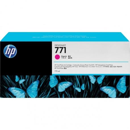 B6Y09A - HP 771C - cartouche d'encre magenta 775 ml pour HP Designjet Z6200