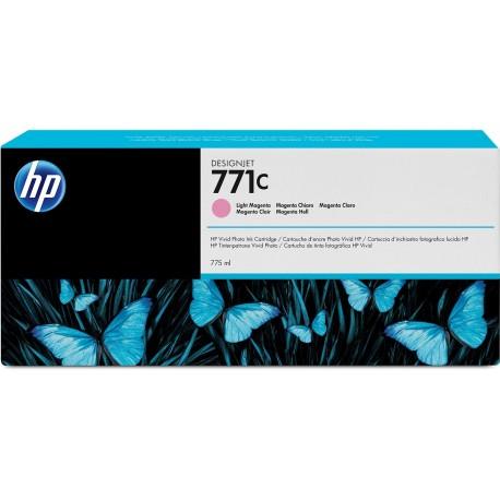 B6Y11A - HP 771C - cartouche d'encre magenta clair 775 ml pour HP Designjet Z6200