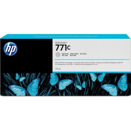 B6Y14A - HP 771C - cartouche d'encre gris clair 775 ml pour HP Designjet Z6200