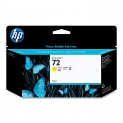 C9373A - HP 72 - cartouche d'encre jaune 130 ml pour HP Designjet T1100, T1120, T1200, T1300, T610, T620, T770, T790