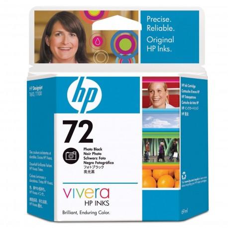 C9397A - HP 72 - cartouche d'encre photo noire 69 ml pour HP Designjet T1100, T1120, T1200, T1300, T610, T620, T770, T790