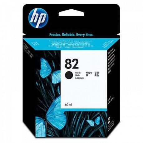 CH565A - HP 82 - cartouche d'encre noir 69 ml pour HP Designjet 100, 120, 500, 510, 800, 815, 820