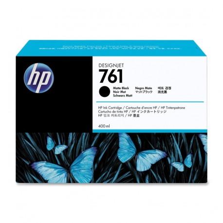 CM991A - HP 761 - cartouche d'encre noir mat 400 ml pour HP Designjet T7100