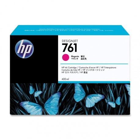 CM994A - HP 761 - cartouche d'encre cyan 400 ml pour HP Designjet T7100