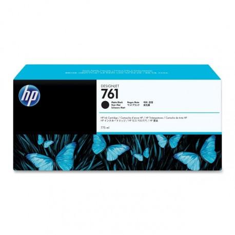 CM997A - HP 761 - cartouche d'encre noir mat 775 ml pour HP Designjet T7100