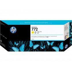 CN630A - HP 772 - cartouche d'encre jaune 300 ml pour HP Designjet Z5200