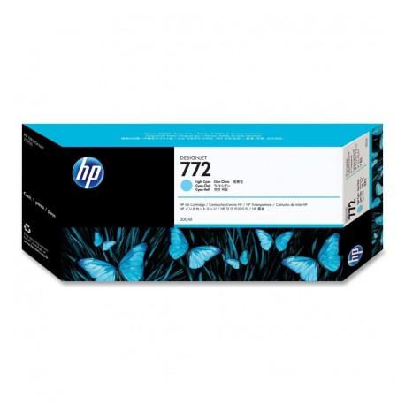 CN632A - HP 772 - cartouche d'encre cyan clair 300 ml pour HP Designjet Z5200