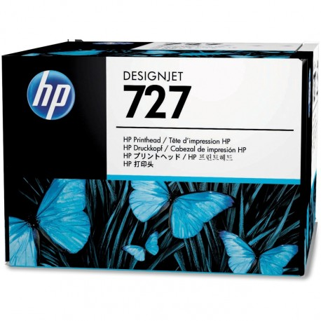 B3P06A - HP 727 - Tête d'impression pour HP Designjet T1500, T2500, T920, T3500