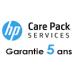 Contrat de Maintenance HP 5 ans pour HP Designjet T2500