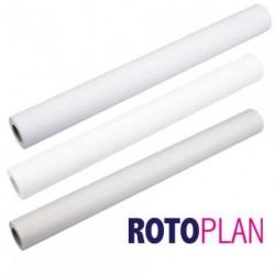 Rouleau de papier Coala mat non couche blanc 914mm x 50.00m