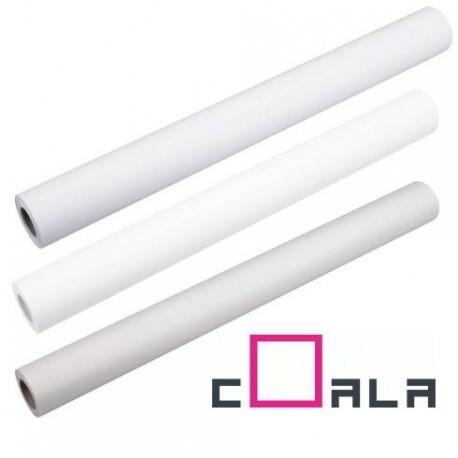 Rouleau de papier photo Coala satine couche blanc 1270mm x 30.00m