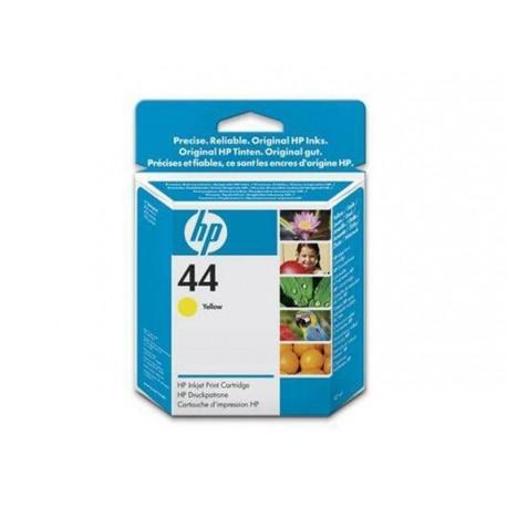 Hp 44 - ref: 51644YE, Cartouche d'encre jaune 42 ml pour HP Designjet 1050, 1055