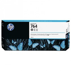 HP 764 - ref: C1Q18A, Cartouche d'encre gris 300 ml pour HP Designjet T3500