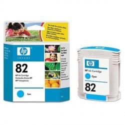 Hp 82 - ref: C4911A, Cartouche d'encre cyan 69 ml pour HP Designjet 100, 120, 500, 510, 800, 815, 820