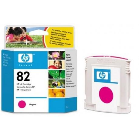 Hp 82 - ref: C4912A, Cartouche d'encre magenta 69 ml pour HP Designjet 100, 120, 500, 510, 800, 815, 821