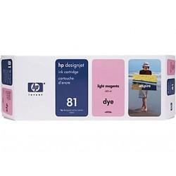 Hp 81 - ref: C4935A, Cartouche d'encre magenta clair 680 ml pour HP Designjet 5000, 5500
