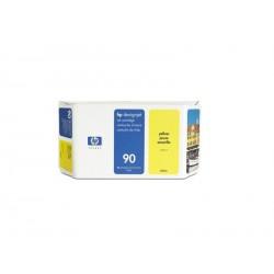 Hp 90 - ref: C5064A, Cartouche d'encre jaune 225 ml pour HP Designjet 4000, 4020, 4500, 4520