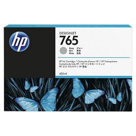 HP 765 - ref: F9J53A, Cartouche d'encre gris 400 ml pour HP Designjet T7200