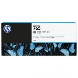 HP 765 - ref: F9J54A, Cartouche d'encre gris fonce 775 ml pour HP Designjet T7200