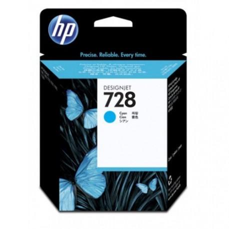 HP 728 - ref: F9J63A, Cartouche d'encre cyan 40 ml pour HP Designjet T730, T830