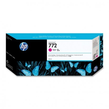 HP 728 - ref: F9K16A, Cartouche d'encre magenta 300 ml pour HP Designjet T730, T830